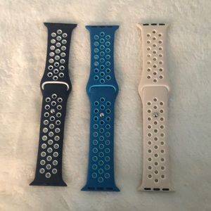Apple Watch bands(Nike style) for 38mm/40mm S/M